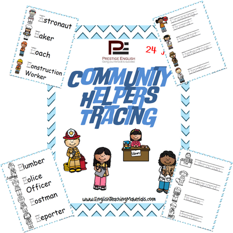 Community Helpers Tracing - Download