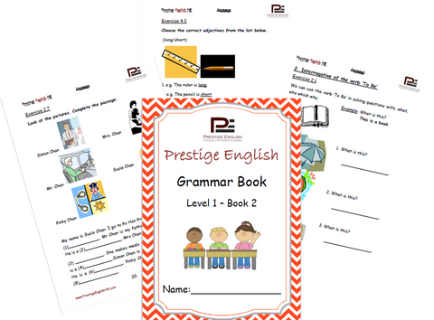 FREE English Grammar Book – Level 1 – Book 2 SAMPLE - Download