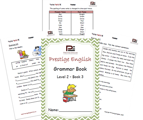 FREE English Grammar Book – Level 2 – Book 3 SAMPLE - Download