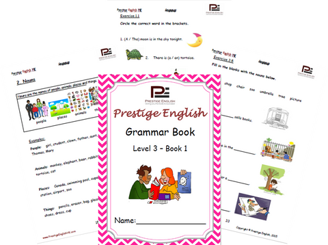 FREE English Grammar Book – Level 3 – Book 1 SAMPLE - Download