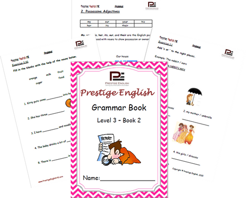 FREE English Grammar Book – Level 3 – Book 2 SAMPLE - Download