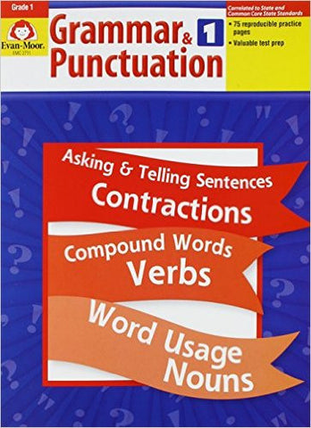 Grammar & Punctuation - Grade 1 - Download