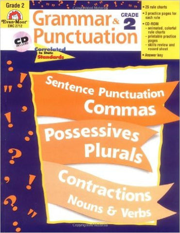 Grammar & Punctuation - Grade 2 - Download