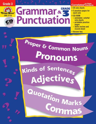 Grammar & Punctuation - Grade 3 - Download