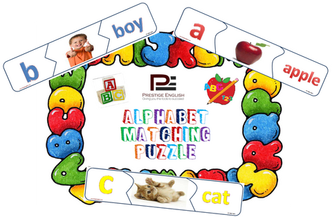 Matching Game - ALPHABET/ABC - Download