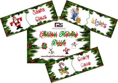 Matching Game - CHRISTMAS - Download