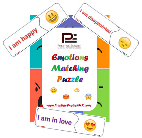 Matching Game - EMOTIONS / EMOJI - Download