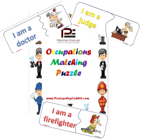 Matching Game - OCCUPATIONS/JOBS - Download
