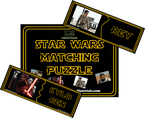 Matching Puzzle - Star Wars (2015) - Download