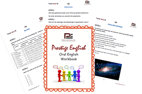 FREE Oral / Speaking / Conversation English Workbook - SAMPLE - Download