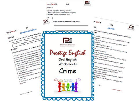 Oral English Workbook - CRIME - Download