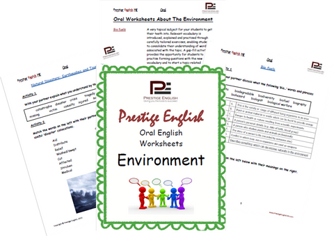 Oral English Workbook - ENVIRONMENT - Download