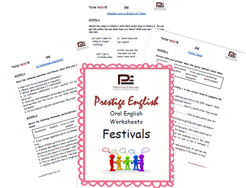 Oral English Workbook - FESTIVALS - Download