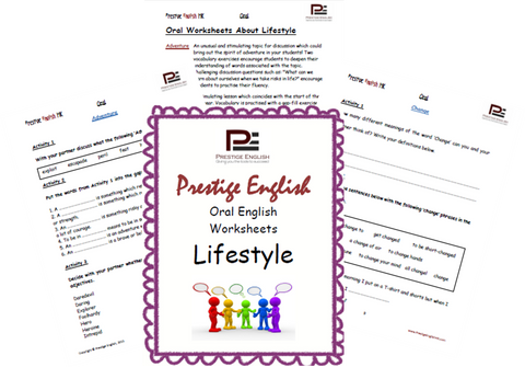 Oral English Workbook - LIFESTYLE - Download
