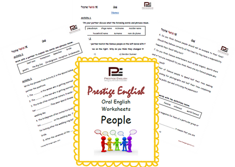 Oral English Workbook - PEOPLE - Download