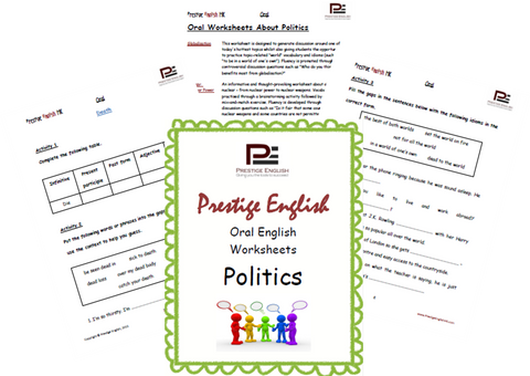 Oral English Workbook - POLITICS - Download