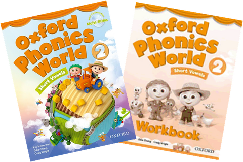 Oxford Phonics World 2 (Short Vowels) - Download