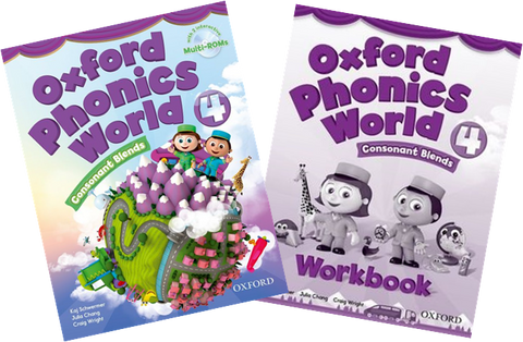 Oxford Phonics World 4 (Consonant Blends) - Download