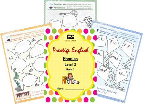 Phonics Book – Level 2 Book 1 ( Jolly Phonics / Letterland ) - Download