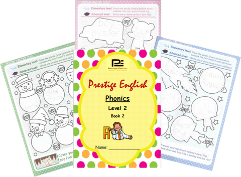 Phonics Book – Level 2 Book 2 ( Jolly Phonics / Letterland ) - Download