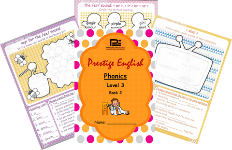 Phonics Book – Level 3 Book 2 ( Jolly Phonics / Letterland ) - Download