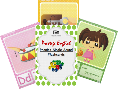 Phonics Single Sound FLASHCARDS ( Jolly Phonics / Letterland ) - FREE - Download