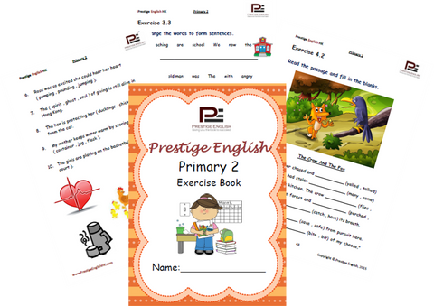 English Exercise Book – Primary 2 (ages 6/7 and up) - Download