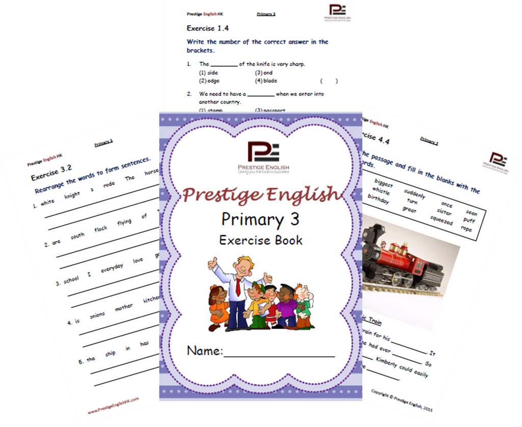 English worksheets for primary 3