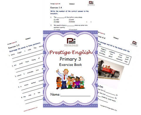 FREE English Exercise Book – Primary 3 SAMPLE - Download