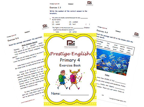 English Exercise Book – Primary 4 (ages 8/9 and up) - Download