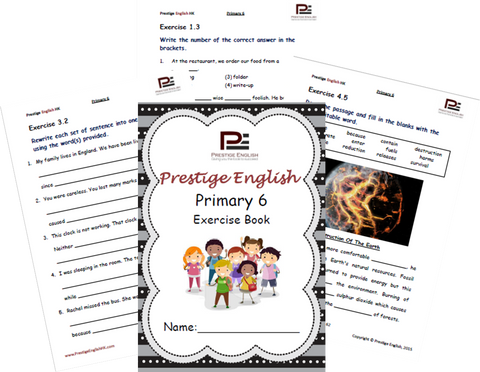 English Exercise Book – Primary 6 (approximately ages 10 and up) - Download
