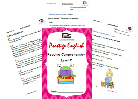 Reading Comprehension Book - Level 2 - Download