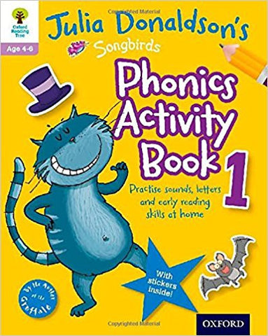 Songbirds Phonics Activity Book 1 (Oxford Reading Tree) - Download