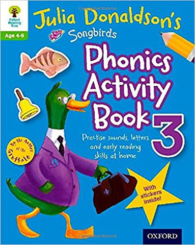 Songbirds Phonics Activity Book 3 (Oxford Reading Tree) - Download