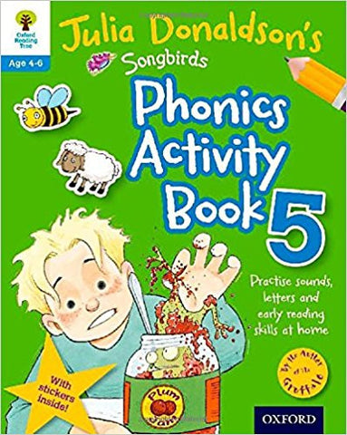 Songbirds Phonics Activity Book 5 (Oxford Reading Tree) - Download