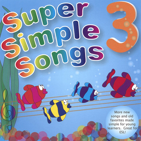 Super Simple Songs 3 - CD - Download