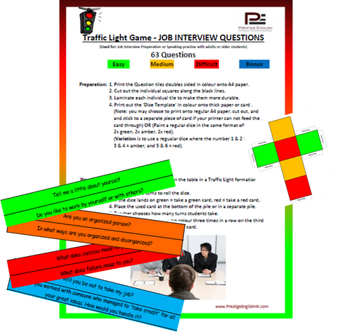Traffic Light Game - JOB INTERVIEW PREPARATION - Download