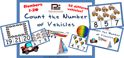 Count the Number of Vehicles | TRANSPORTATION