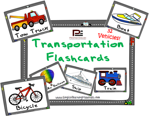 Transportation Flashcards | FREE