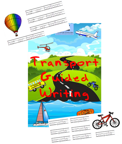 Transportation Guided Writing | Worksheets - Download