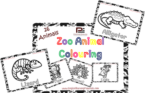 Zoo Animals Colouring - Download