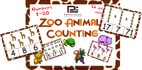Zoo Animals Counting