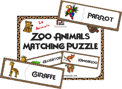 Zoo Animals Matching Game - Download