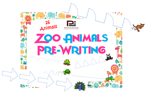 Zoo Animals Pre-writing - Download