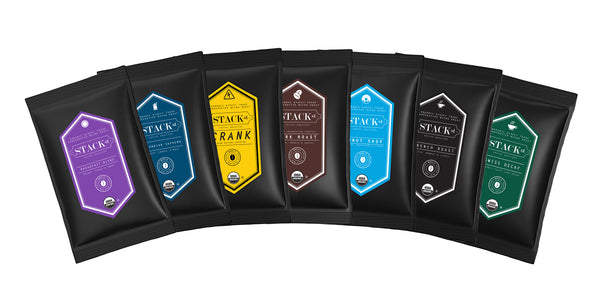 STACK STREET™ Organic Coffee Sample Pack, Specialty Multipack Sampler