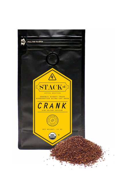 STACK STREET™ CRANK High Voltage Organic Coffee