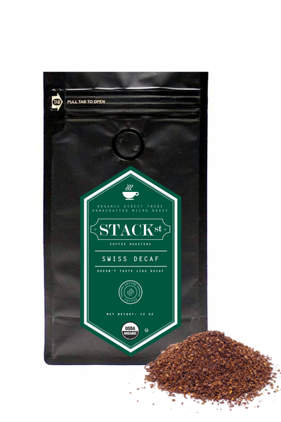 STACK STREET™ Swiss Water Decaf Organic Coffee