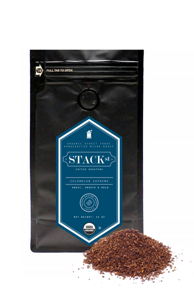 STACK STREET™ Colombian Supremo Organic Coffee