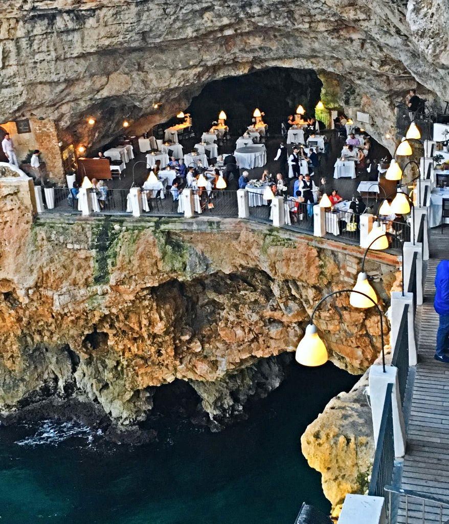 We dined at the most Instagramed restaurant in the world: Grotta Palazzese