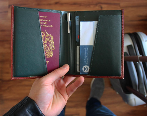 """ The quality of the wallet is undeniable."" Review by The Exiled Brit"